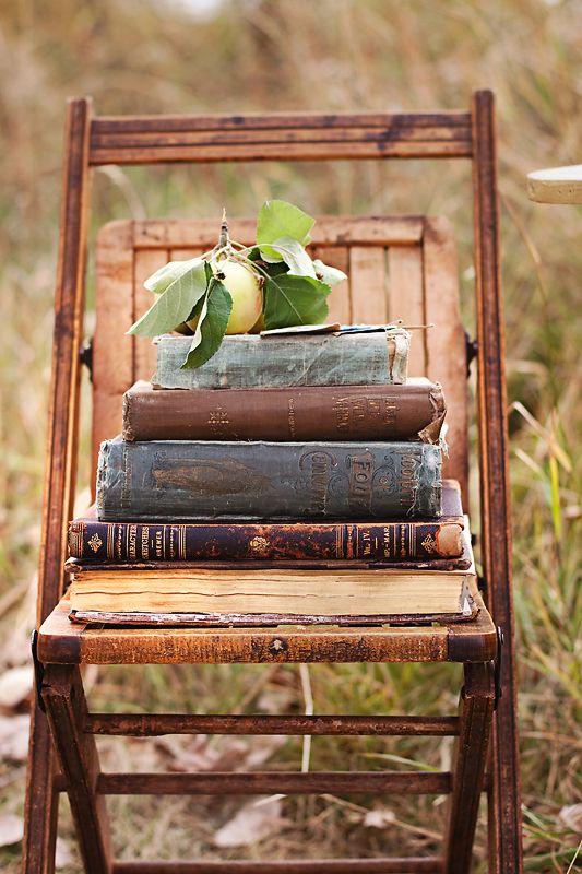 Livres chaise